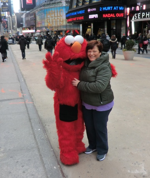 Elmo Accosted