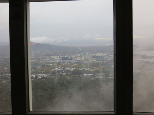 View from Black Mountain Tower