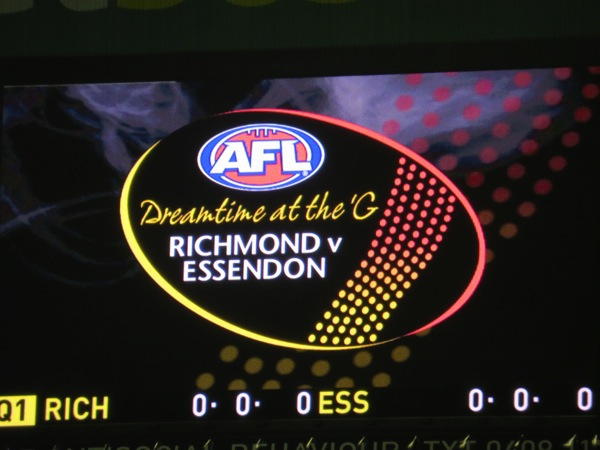 Dreamtime at the G