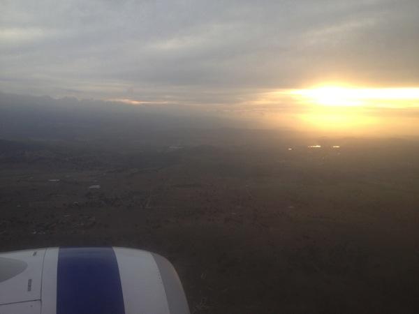 Canberra landing
