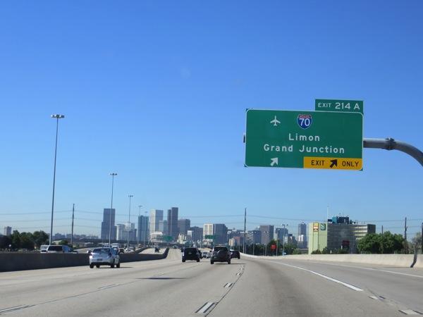 Approaching Denver