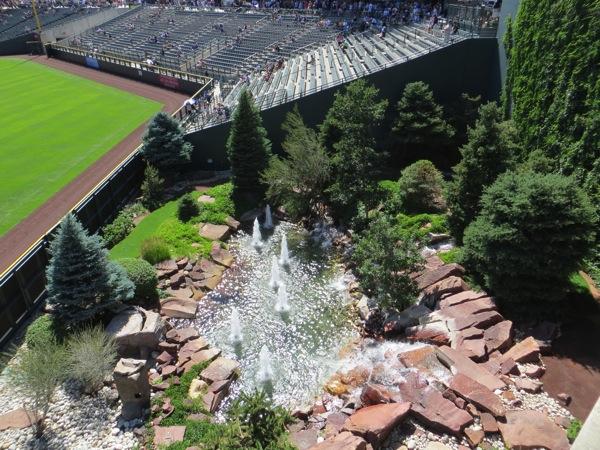 Coors Field Garden