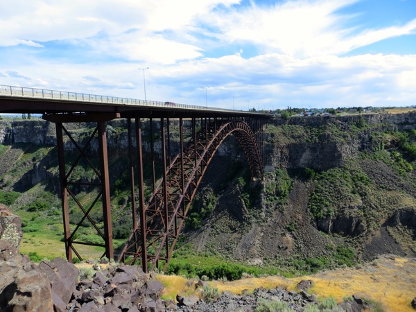 Snake River bridge