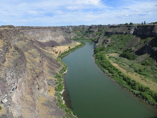 Snake River Gorge at Twin Falls 2