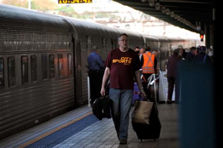 Sydney Arrival