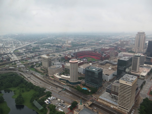 Gateway Arch looking SW