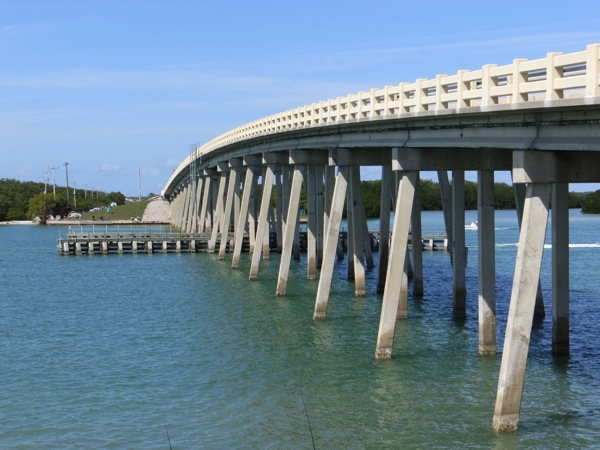 Lovers Key Bridge