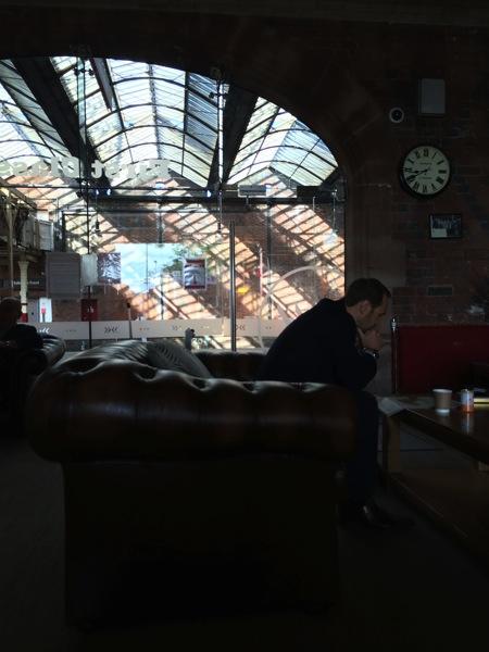 Stoke First Class Lounge