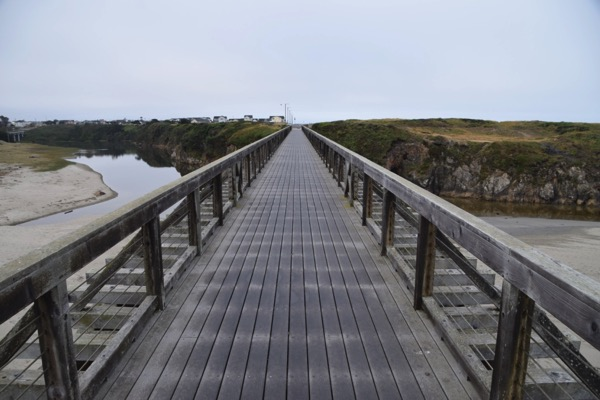Fort Bragg footbridge