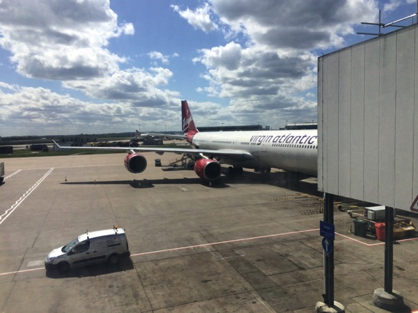 Virgin departure