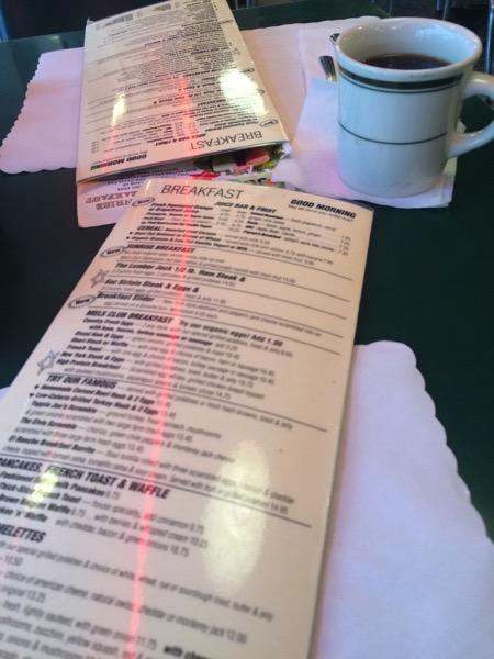 Mel's menu