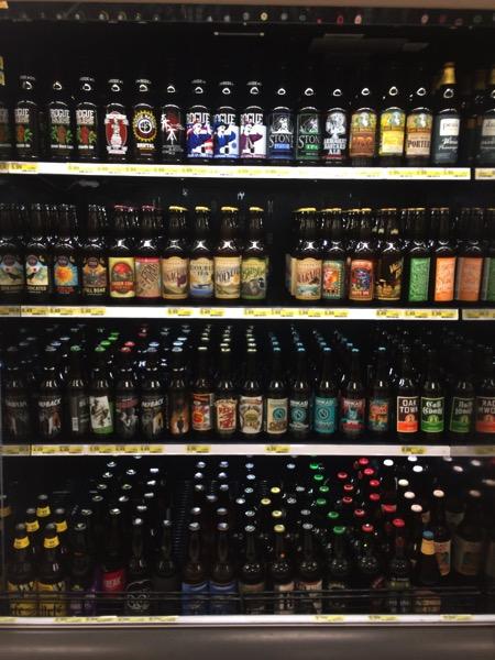 Beer choice in Target