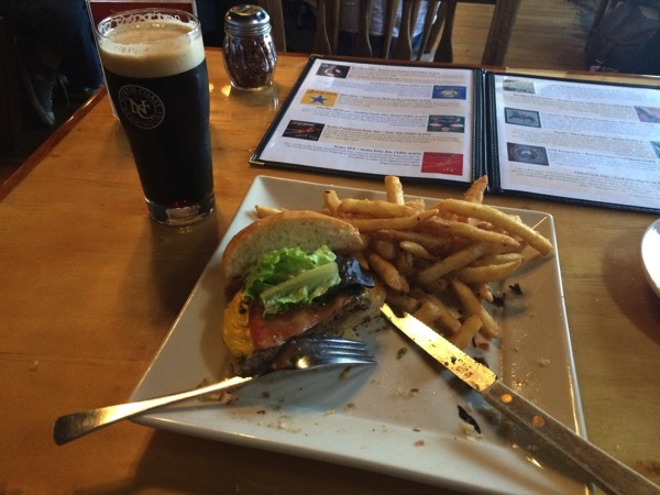 North Coast Brewing Company - dinner!