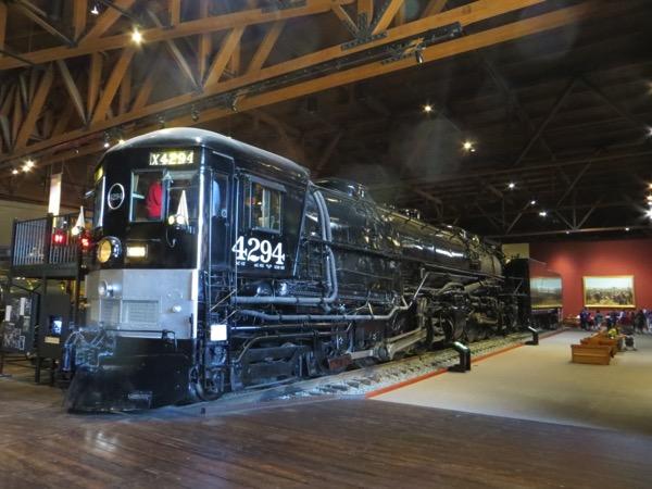 California Railroad Museum exhibit