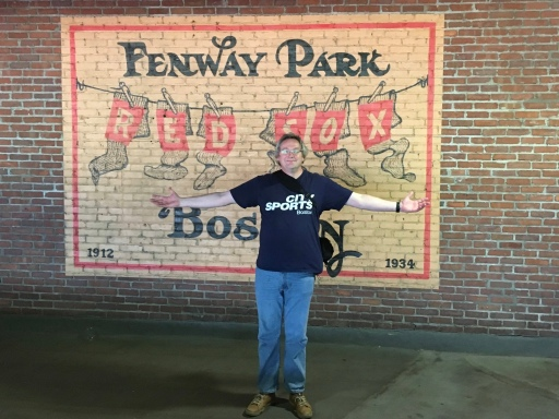 Me at Fenway