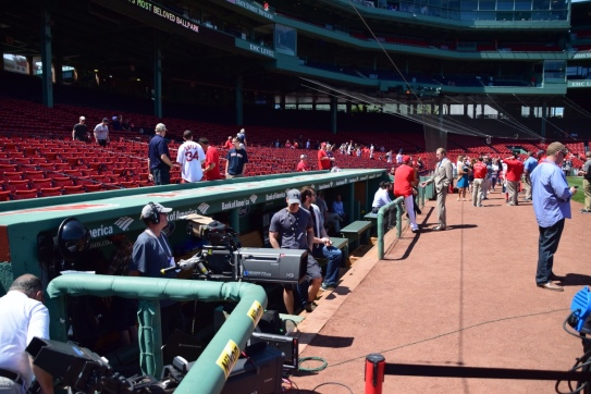 Red Sox Dugout
