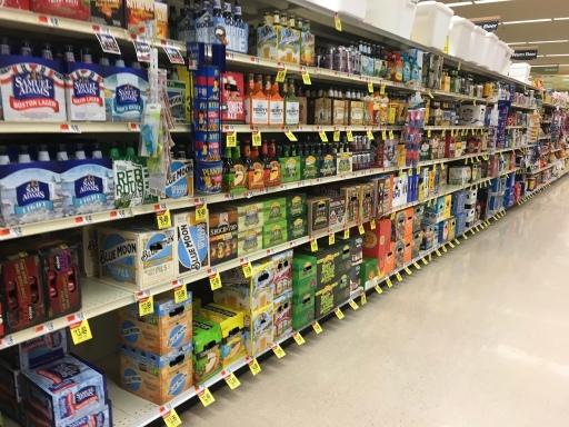 Shaws Beer Aisle