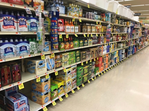Shaws Beer Aisle