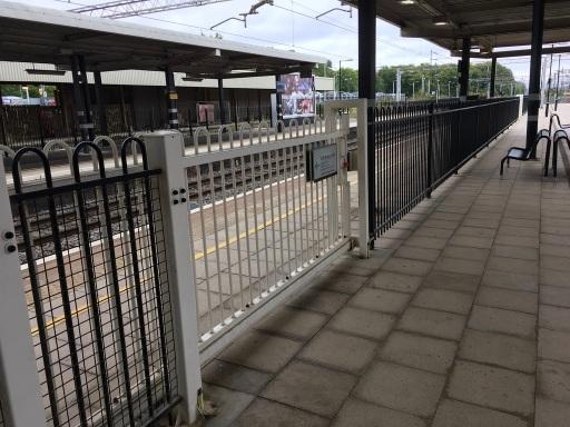 Fast line platform at Bletchley