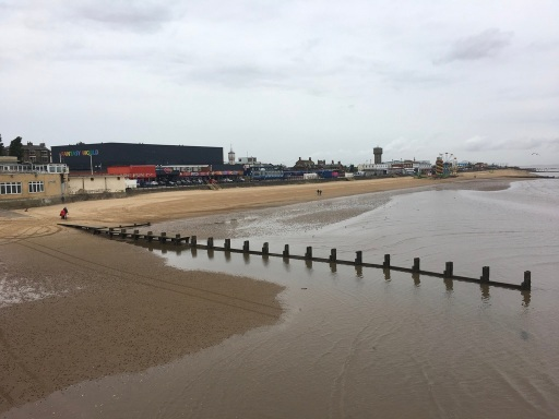 Cleethorpes from the pier