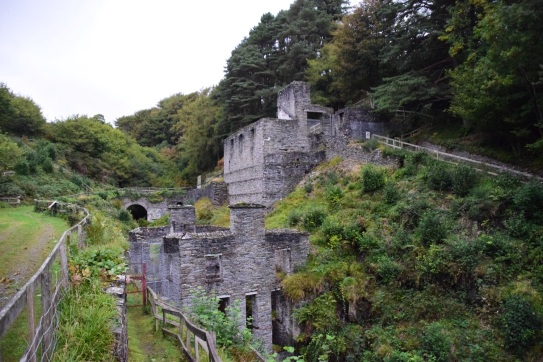 Laxey engine houses