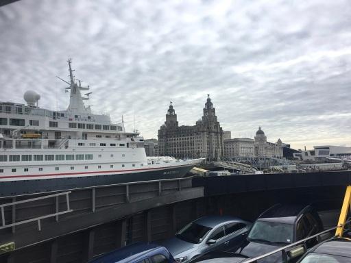 Mersey arrival