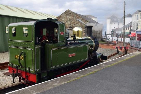 Port Erin arrival
