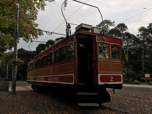 Snaefell Mountain Railway car