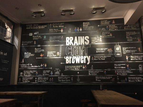 Brains Craft Brewery