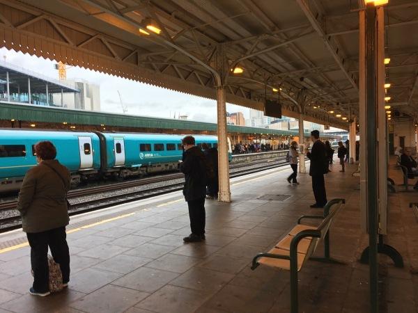 Cardiff Station Platforms