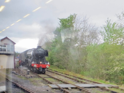 Flying Scotsman at Appleby