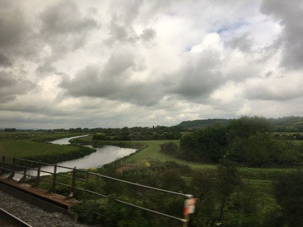 Random View From Train (Somerset)