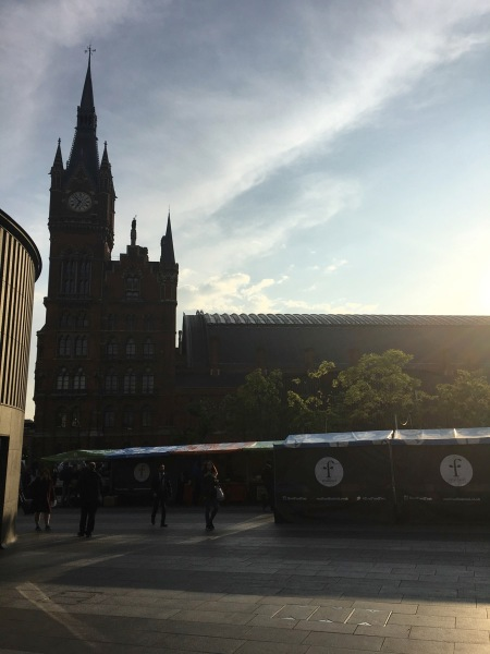 St. Pancras Evening